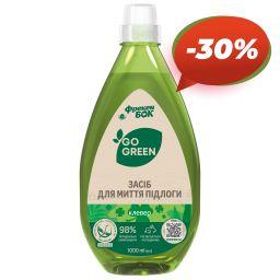 GO GREEN Засіб для миття підлоги «Клевер» 1 л від Фрекен БОК