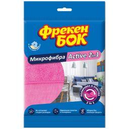 Фрекен БОК Салфетка з мікрофібри Active 2in1 1 шт.