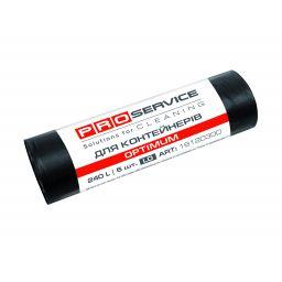Пакет для смiття PRO service Optimum чорний LD, 240л/5шт