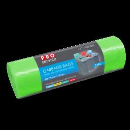 Пакети PRO service Standard для сортування СКЛА зелені LD, 160л/20шт