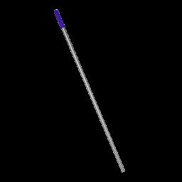 Алюмінієва рукоятка синя, 140 м (отвір)