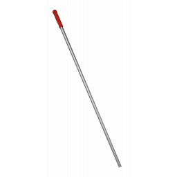 Алюмінієва рукоятка червона, 140м (отвір)