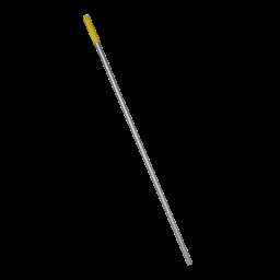 Алюмінієва рукоятка жовта, 140м (отвір)