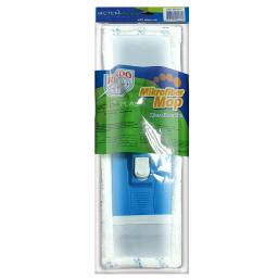 Швабра для мытья пола в сборе (держатель, рукоятка, моп), 40х11см