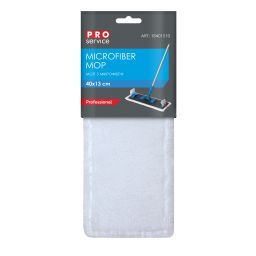 Моп з мікофібри PRO service в індивідуальній упаковці, 40х13 см (кишені/стрічки)