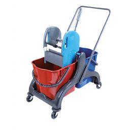 Візок для прибирання на 2 відра на 25 л (CK750-T)