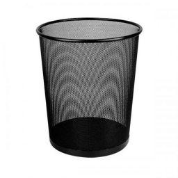 PRO Корзина для сміття 12 л, металева чорна