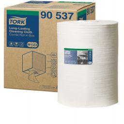 Нетканий матеріал для інтенсивної очистки Tork Premium 114 м, 1 рулон (W1-3)