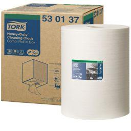 Технічний нетканий матеріал Tork Premium для видалення жиру та мастил 148 м, 1 рулон (W1-3)