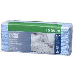 Tork Premium екстра-безворсовий матеріал в аркушах 70 г/м2 80 арк., блакитний W4 (5 шт/ящ)