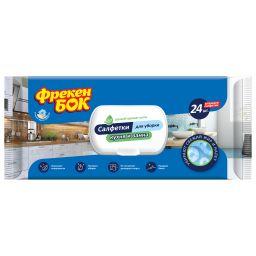 Господарчі вологі серветки для кухні та ванної кімнати, 36 шт