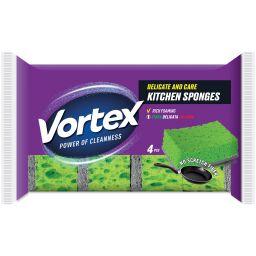 Vortex Губка для делікатних поверхонь, 4 шт