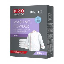 Порошок пральний автомат PRO service White, 400 г