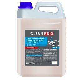 Засіб для дезінфекції рук Clean Pro рідина, 5л