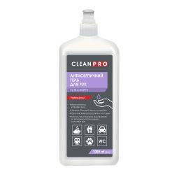 Дезинфицирующее средство для рук Clean Pro в виде геля, 1л