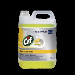 Універсальний засіб Cif Professional для чищення водостійких поверхонь Лимон, 5л