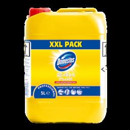Универсальное моющее средство Domestos Professional с дезинфицирующим эффектом, 5л