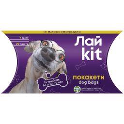 Лайkit Покакети для прибирання за улюбленцями в картонному боксі 1*20 шт
