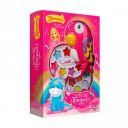 """""""Принцеса"""" подарунковий набір дитячої декоративної косметики """"Чудовий папуга"""""""