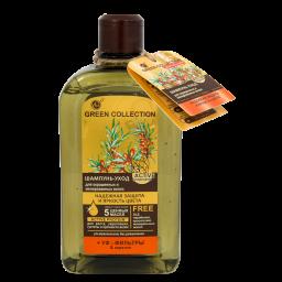 Шампунь-догляд для волосся GREEN COLLECTION Надійний захист та яскравість кольору, 500 мл