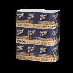 Рушник паперовий Selpak Professional Premium Z-складання 2 шари, 200 аркушів