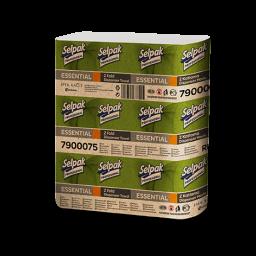 Рушник паперовий Selpak Professional Essential Z-складання 1 шар, 250 аркушів
