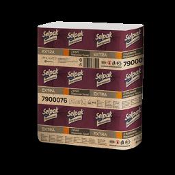 Рушник паперовий Selpak Professional Extra Z-складання 2 шари, 200 аркушів
