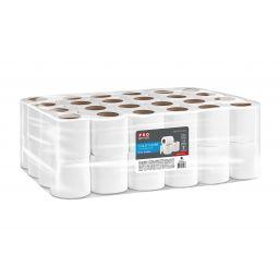 PRO service Standard Туалетная бумага в рулонах 2-х шар.9м, 48 рул / уп.