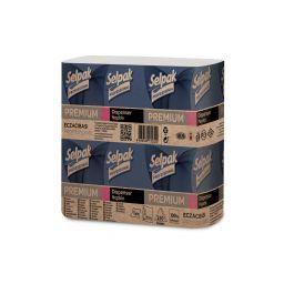 Серветки для диспенсерів Selpak Professional Premium 1 шар, 250 аркушів