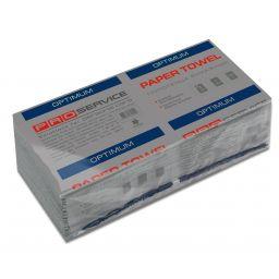 Полотенце PRO service Optimum V-сложения 1 слой, 160 листов (серый)