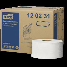 Папір туалетний Tork Advanced міні-рулон 2 шари, 170м, 1 рулон (Т2)