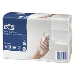 Полотенце Tork Xpress Advanced Multifold 2 слоя, 190 листов (Н2)