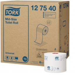 Папір туалетний Tork Universal авто-шифт в рулонах 1 шар, 135м, 1 рулон (Т6)