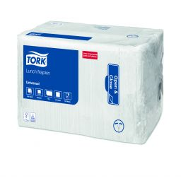 Tork Universal Серветки 32,5х32,5 см 1-но шар. 500 шт, (8 шт/ящ)