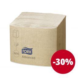 Серветки Tork Xpressnap® Fit для диспенсерів 2 шари, 720 аркушів, крафтові (N14)