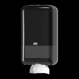 Диспенсер Tork для туалетной бумаги в листах, черный (Т3)