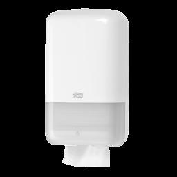 Диспенсер Tork для туалетной бумаги в листах, белый (Т3)