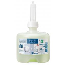 Жидкое мыло-шампунь Tork Premium для тела и волос мини, 475мл (S2)