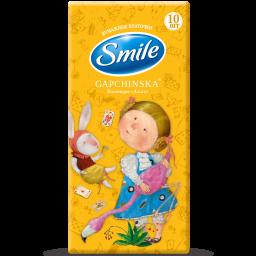Паперові хусточки Smile Gapchinska 10 шт.