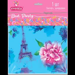 Скатертина поліетиленова з малюнком Париж EVENTA 138*183 см