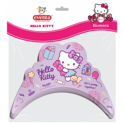 Колпаки (короны) картонные Hello Kitty, EVENTA 6 шт.