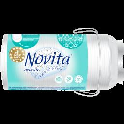 Диски ватные косметические NOVITA Delicate 50 шт