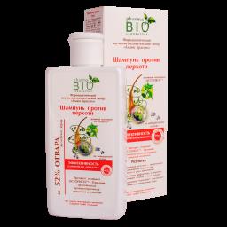Безсульфатний шампунь Pharma Bio Laboratory проти випадіння волосся, реп'яховий, 200 мл