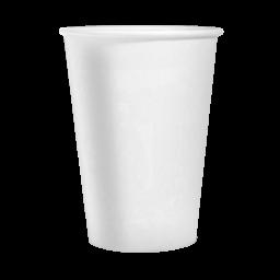 Стакан паперовий PRO service білий 175мл, 50 шт
