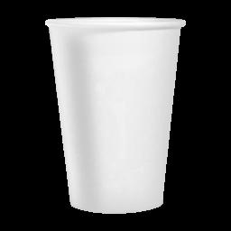Стакан паперовий PRO service білий 250мл, 50 шт