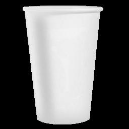 Стакан паперовий PRO service білий 340мл, 50 шт