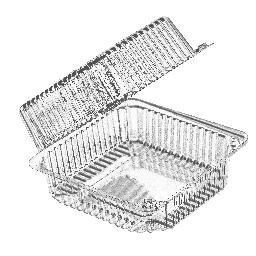 Харчовий PET-контейнер PRO serivce Standard 880 мл, 25 шт