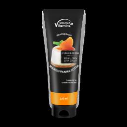 Крем-гель для душа Energy of Vitamins Cream Shower Gel Mango Panna cotta, 230 мл
