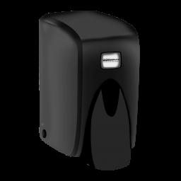 Дозатор для жидкого мыла PRO service черный, 0,5л (SB5)