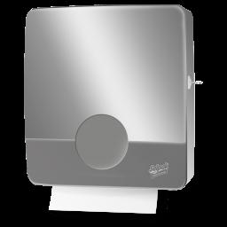 Selpak Pro Touch Пластиковый диспенсер для бумажных полотенец серый 1шт